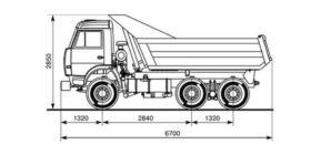 Камаз самосвал 10 тонн технические характеристики