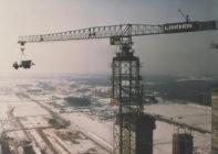 Самый большой башенный кран в мире