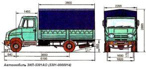 Зил 5301ао технические характеристики