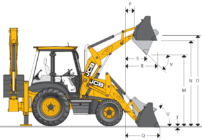 Экскаватор погрузчик jcb 3cx технические характеристики