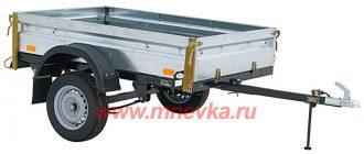 Прицеп КМЗ 828421 технические характеристики